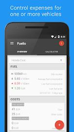 Fuelio: Fuel log & costs Screenshot 1