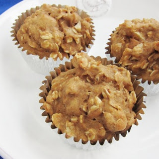 Apple Oatmeal Muffin.