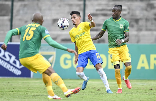Sundowns coach Manqoba Mngqithi full of praise for his charges after Arrows win