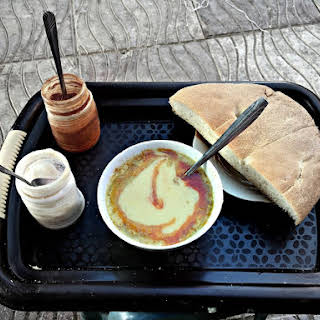 Moroccan Fava Bean (Broad Bean) Dip or Soup Recipe - Bessara.