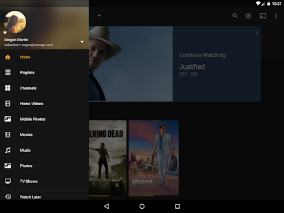 Plex Media Server Screenshot