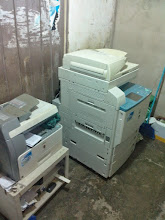 Photo: Printers added to enable provision of services to the GAKU Primary School cutting costs for management.