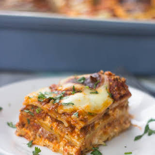 The Best Ever Beef Lasagna.