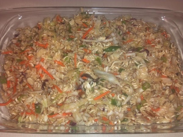 Ramen Cabbage Salad Recipe