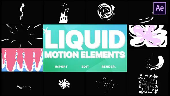 Liquid Motion Elements