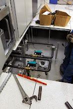 Photo: Vanne 3 voies climatisation salle 1 #datacenter #reims (Visite de chantier 11.12.2014)
