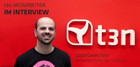 Photo: t3n Mitarbeiter im Interview - Luca Caracciolo (Redaktionsleiter t3n Magazin) http://goo.gl/b7KlX