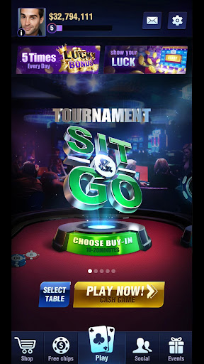 Hold'em or Fold'em - Poker Texas Holdem screenshots 3