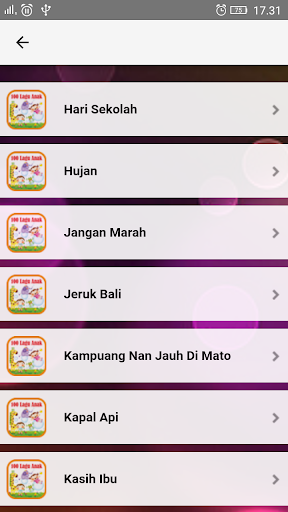 Lagu Anak Indonesia TK & PAUD  screenshots 5