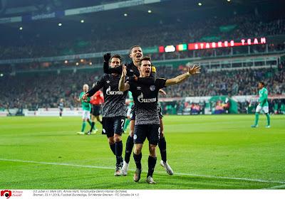 Benito Raman scoorde een heerlijke goal voor Schalke 04