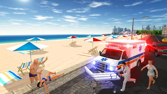 سيارة إسعاف لعبة 4