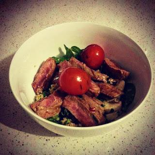 Kangaroo & Quinoa Salad.