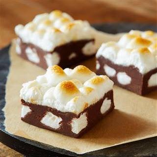 Hot Chocolate Marshmallow Fudge.