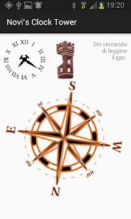 The clock tower of Novi di Modena - náhled