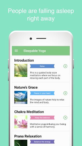 Sleepable Yoga:Easy Meditation 1.6.4 Windows u7528 1