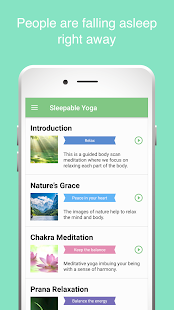 Sleepable Yoga:Easy Meditation Screenshot
