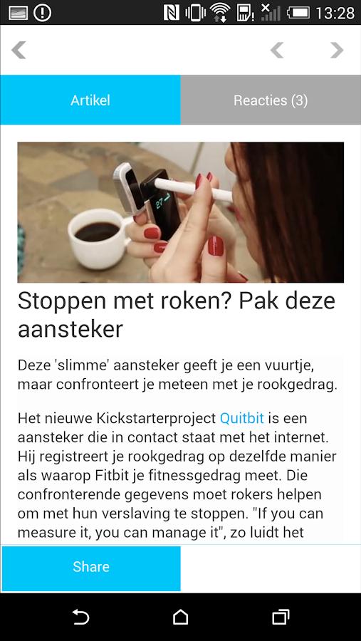 Bright.nl- screenshot