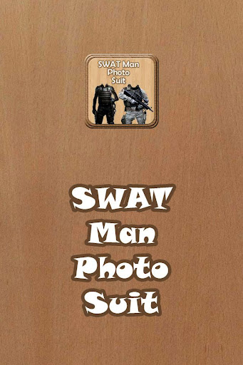 SWAT Man Photo Suit