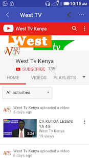 West FM Kenya- screenshot thumbnail