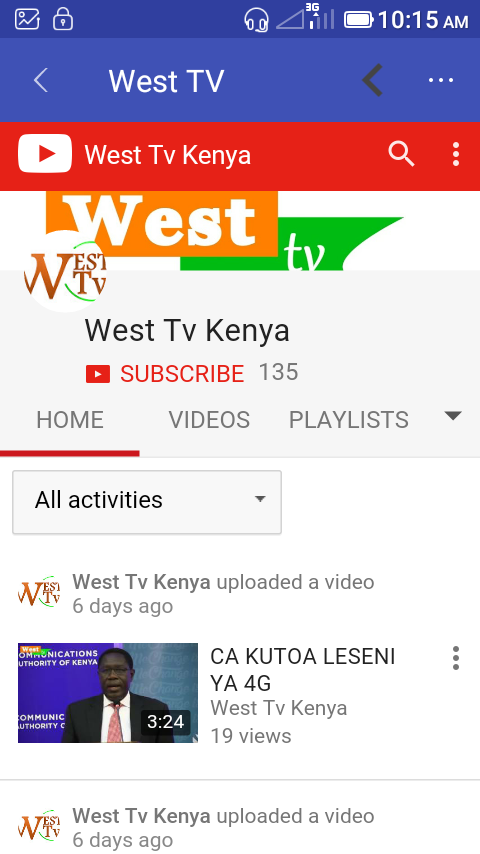 West FM Kenya- screenshot
