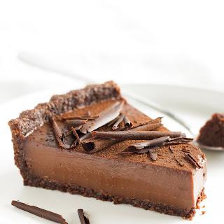 Chocolate Custard Tart.