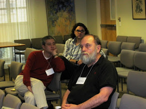 Photo: PROFESSOR JOHN MATSUSAKA, GRADUATE STUDENT  REUBEN KLINE AND PROFESSOR DENNIS MUELLER