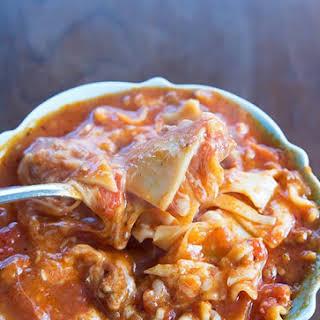 Lasagna Soup With Italian Sausage Recipes.