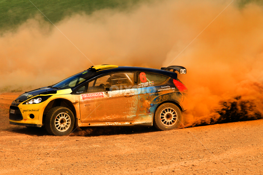 No.6 Slide by Heinrich Sauer - Sports & Fitness Motorsports ( rally, speed, racing, dust, slide, dirt, stones )