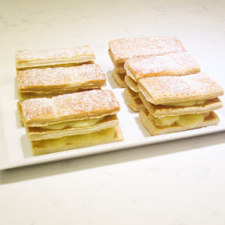 Coconut and Pineapple Mille-Feuilles