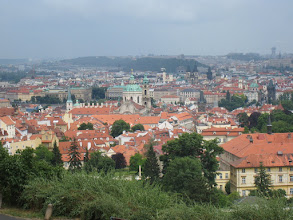 Photo: Looking over Prague from the Strahov Monastery