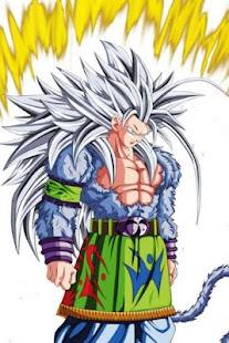 Goku SSJ5 DBZ Wallpaper HD Offline - náhled