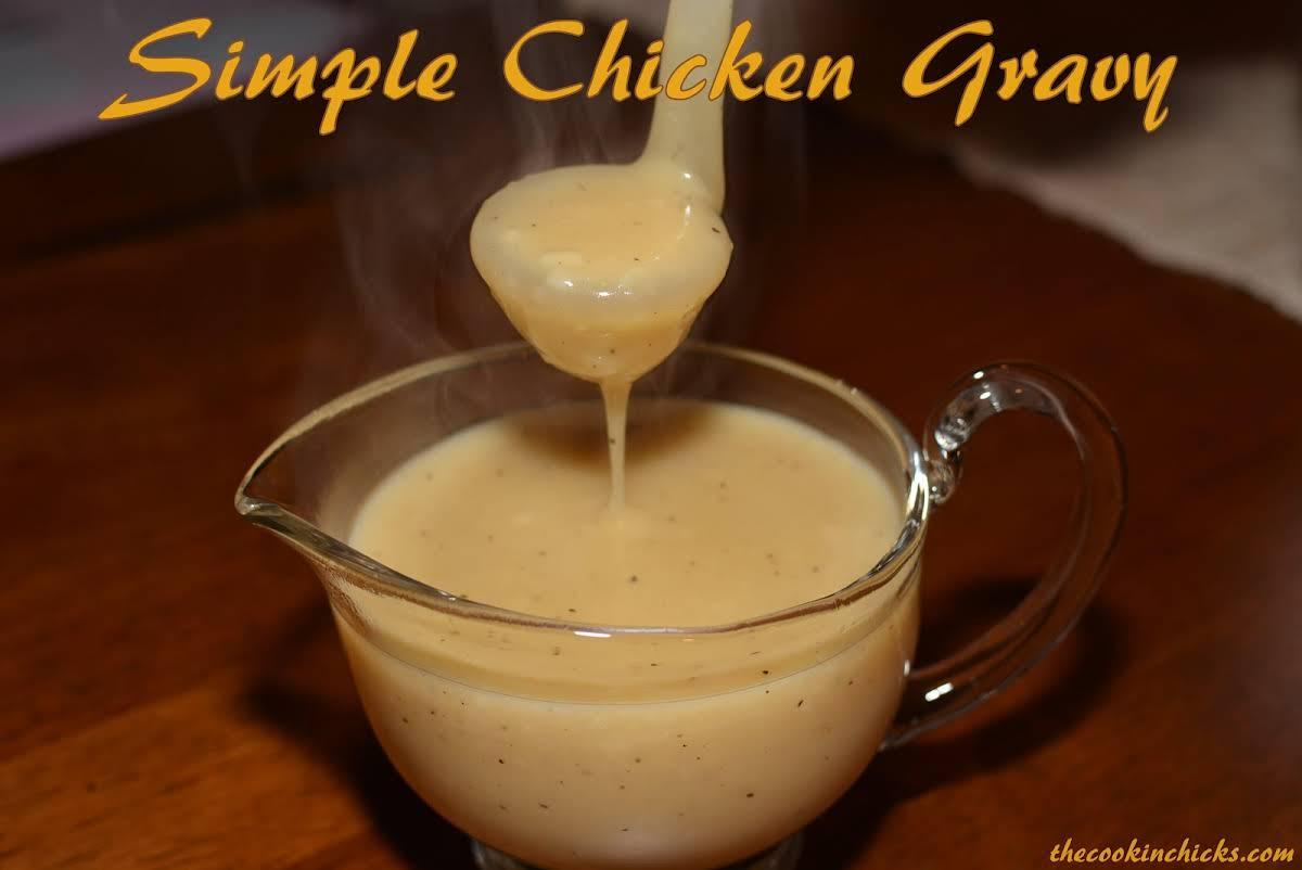 10 Best Simple Chicken Gravy With Chicken Broth Recipes