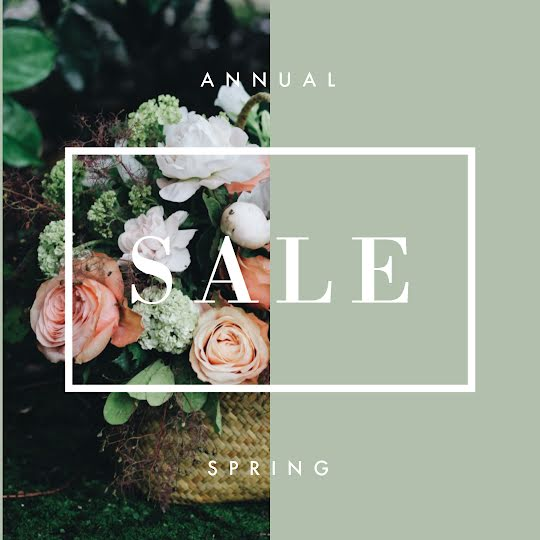 Annual Spring Sale - Instagram Post Template