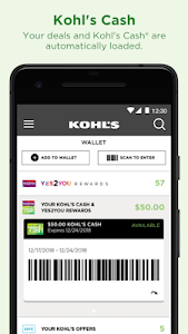 Kohl's: Scan, Shop, Pay & Save 7.53