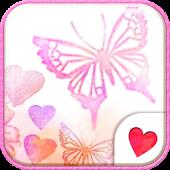 Cute wallpaper★Butterfly Heart