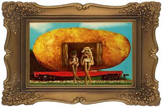 Photo: The Potato Train 7 x 5  sold