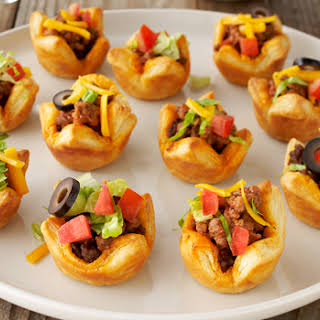 Party Taco Tartlets.