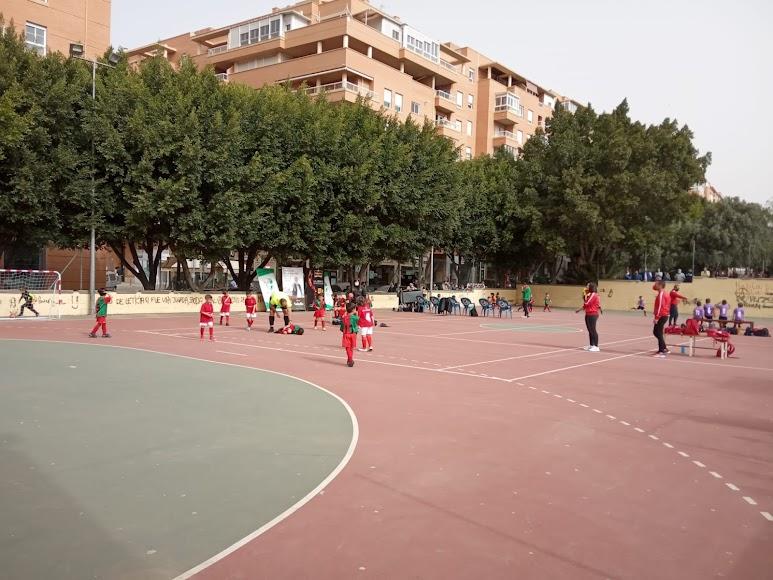 Los partidos se disputaron en las pistas del Barrio San Luis.
