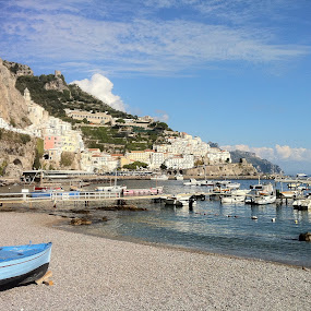 Amalfi by Scott Murphy - City,  Street & Park  Vistas ( amalfi,  )