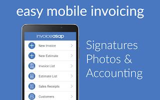 Screenshot of Invoice ASAP for QuickBooks