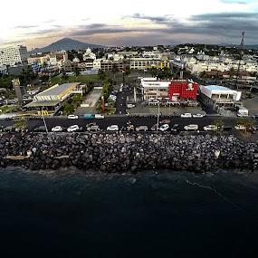 Mega Beach City Park in Manado by Ridwan Resmana - City,  Street & Park  City Parks