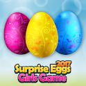 Surpresa ovos menina jogo icon