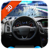 Speed Car 3D Live Wallpaper Rainy