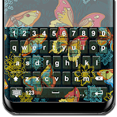 Cute Butterfly Keyboard Themes