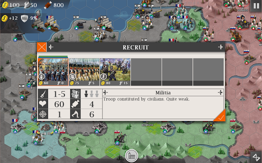 European War 4: Napoleon screenshot 8