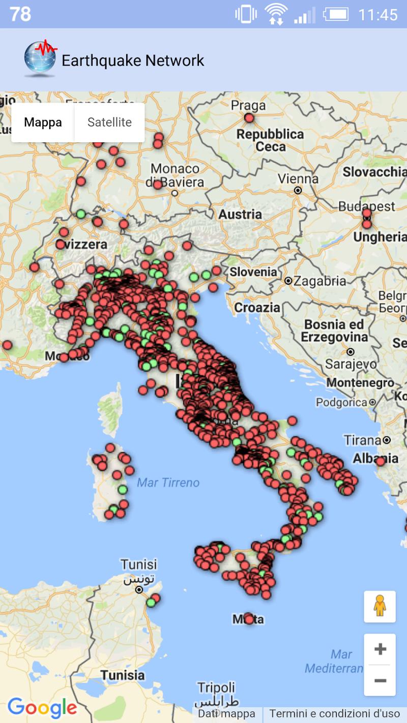 🚨 Earthquake Network Pro - Realtime alerts Screenshot 7