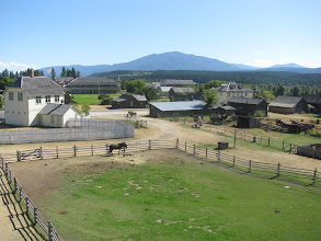 Photo: Fort Steele historic site