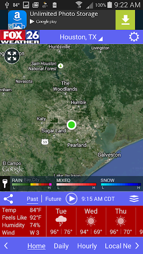 Houston Weather - FOX 26 Radar  screenshots 2