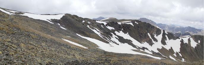 Photo: La vessant francesa del coll de Noucreus (2.795 m)