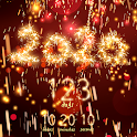 New Year 2020 countdown icon